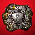 Dragon Viking Buckle - Designed by Tanside 1995
