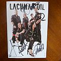 Lacuna Coil - 2011 Autographed postcard from Graspop Metal Meeting