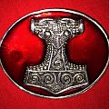 Thor's Hammer -  Belt Buckle Mjolnir 2006 Other Collectable