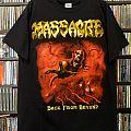 Massacre (USA) - TShirt or Longsleeve - Massacre - Back From Beyond North American Tour 2014