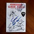 Testament - Autographs from Graspop Metal Meeting 2004