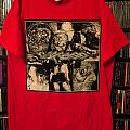 Carcass - One Foot In The Grave 2016 Red Tour Shirt