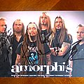 Amorphis - Signed Postcard at Graspop Metal Meeting 2011 Other Collectable