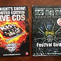 "Graspop Metal Meeting - Programme 2008 + ""Tonite Show"" Limited Edition LIVE Cds"