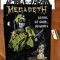 Megadeth - Patch - Megadeth - So Far, So Good... So What! Backpatch 1989