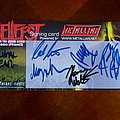 Primal Fear - Other Collectable - Primal Fear - Fully signed Postcard at Hellfest 2010