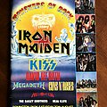 Kiss - Other Collectable - Monsters of Rock Festival - Dinington  Park Saturday 20 August 1988 PROGRAMME