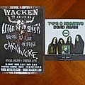 Carnivore - Tape / Vinyl / CD / Recording etc - Carnivore - Promo page Signed by the Band at Wacken 2006