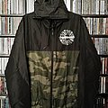 Carcass - Hooded Top - Carcass - Tools Logo 2020 Hooded Camo Windbreaker by ©️ Rebellion Republic