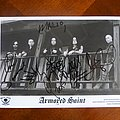 Armored Saint - Tape / Vinyl / CD / Recording etc - Armored Saint - Postcard  Signed by the band at Hellfest 2015