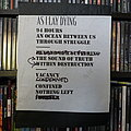 As I Lay Dying - Other Collectable - As I Lay Dying - Setlist from Download Festival 2010