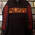 Carcass - TShirt or Longsleeve - Carcass - Gods of Grind European Tour 1992 Red Logo and Arms Tools