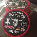 Wacken Crüe Patch