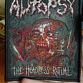"Autopsy ""The Headless Ritual"" official limited patch"