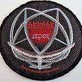 Deicide Official Legion woven patch
