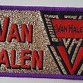 Van Halen old woven patch