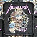 Metallica woven patch