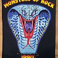 Monsters of Rock 1990 back patch