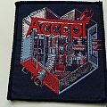 Accept-Metal Heart Patch