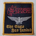 Saxon Old embroidered patch