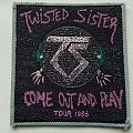 Twisted Sister-Come out and Play 1986 Tour Patch
