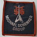 Michael Schenker Group old woven patch