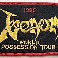 Venom 1985 World Possession Tour Patch