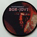 Bon Jovi-7800° Fahrenheit Patch