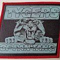 Tygers Of Pan Tang Original printed patch