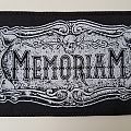 Memoriam Official woven patch
