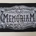 Memoriam - Patch - Memoriam Official woven patch