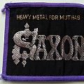 Saxon-Heavy Metal for Muthas Patch
