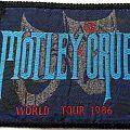 Mötley Crüe- World Tour 1986 Patch