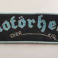 Motörhead Over-Kill woven strip patch