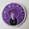 Jimi Hendrix woven patch