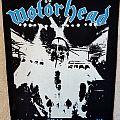 Motorhead No Sleep 'til Hammersmith back patch