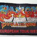 Saxon Original European Tour woven patch