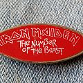 Iron Maiden-The Number of the Beast Pin / Badge