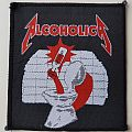 Alcoholica woven patch