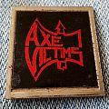 Axe Victims metal badge Pin / Badge