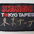 Scorpions Old woven patch