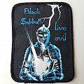 Black Sabbath Live Evil printed patch