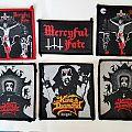 Mercyful Fate, King Diamond woven patches