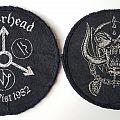 Motorhead Iron Fist Tour patches 1982