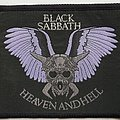 Black Sabbath Original Heaven and Hell woven patch