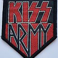 Kiss Army Original woven patch