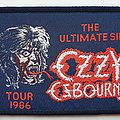 Ozzy Osbourne Original 1986 Tour woven patch