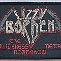 Lizzy Borden Original woven patch