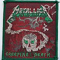 Metallica Creeping Death Green border Patch
