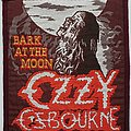 Ozzy Osbourne Original Bark at the Moon woven patch